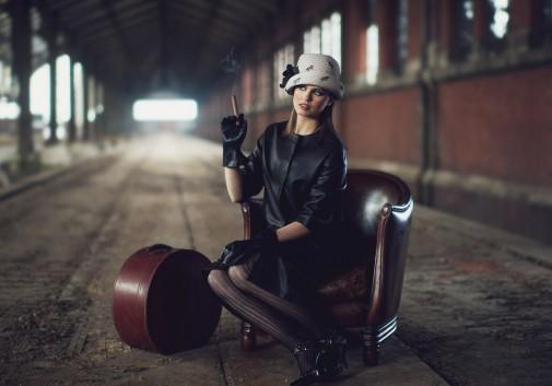 mode-vintage-entrepot-brune-chapeau