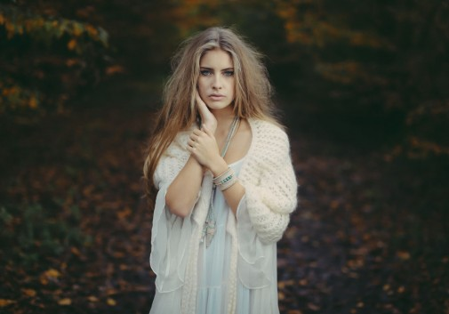 blonde-automne-ange-camille-nature