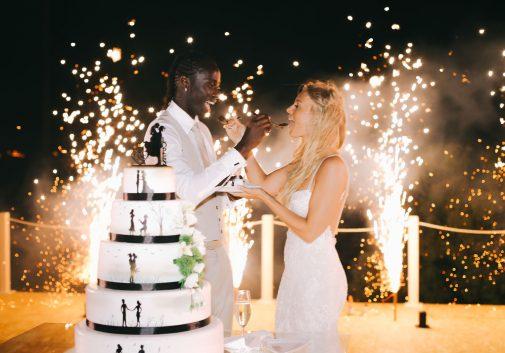 couple-eder-lopes-mariage-gateau